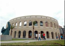 體育館 (羅馬競技場外貌)